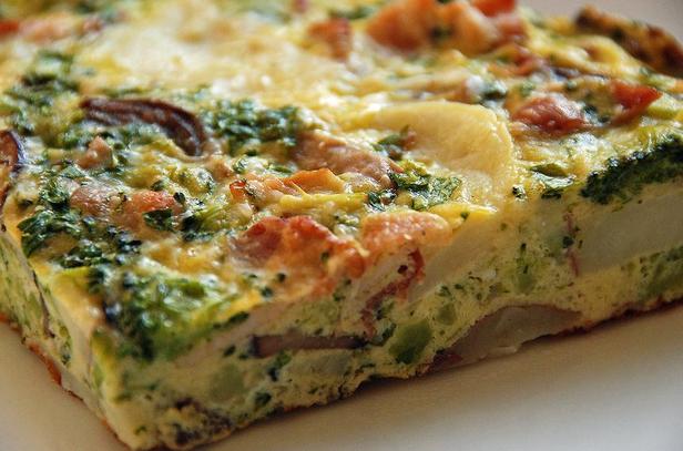 Omelet Kentang Daging