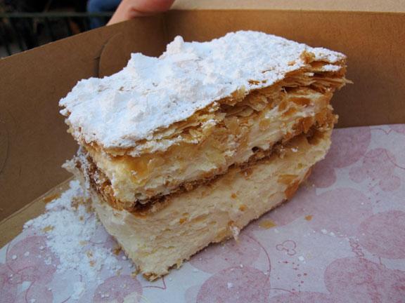 Napoleon Bakery Chantilly Cake
