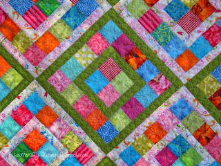 Boxed In, quilting detail 1