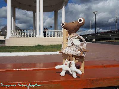 царевна лягушка подарить ручной работы