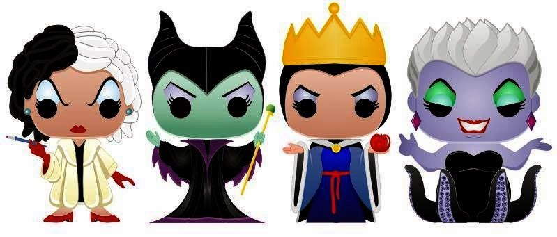PAPERMAU: Disney Villains Paper Toys In Funko Pop Style - by Dansrules