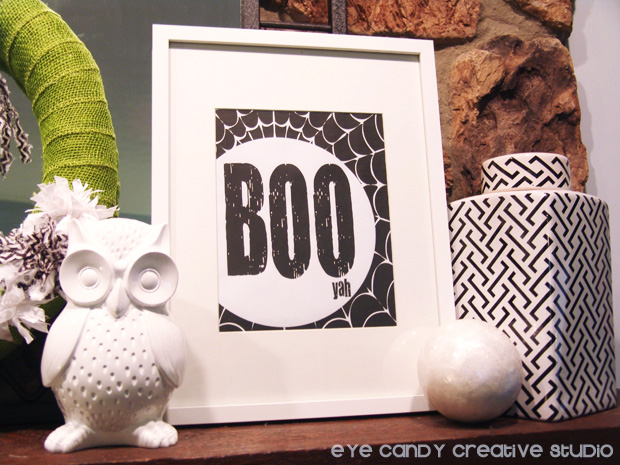decoratibg a halloween mantel, black and white decor ideas for halloween