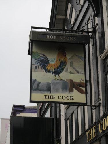 The Cock Hotel Hazel Grove Stockport UK