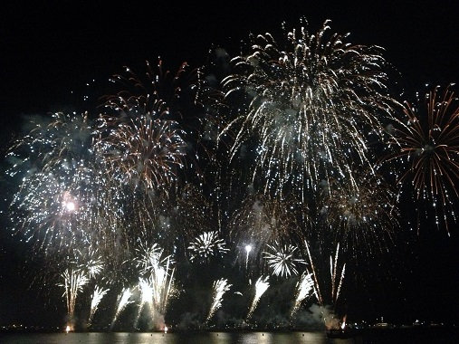 Festival d'Art Pyrotechnique - Cannes Fireworks