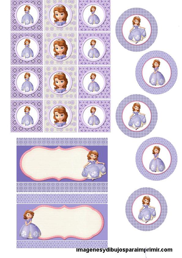 dibujos de princesa sofia