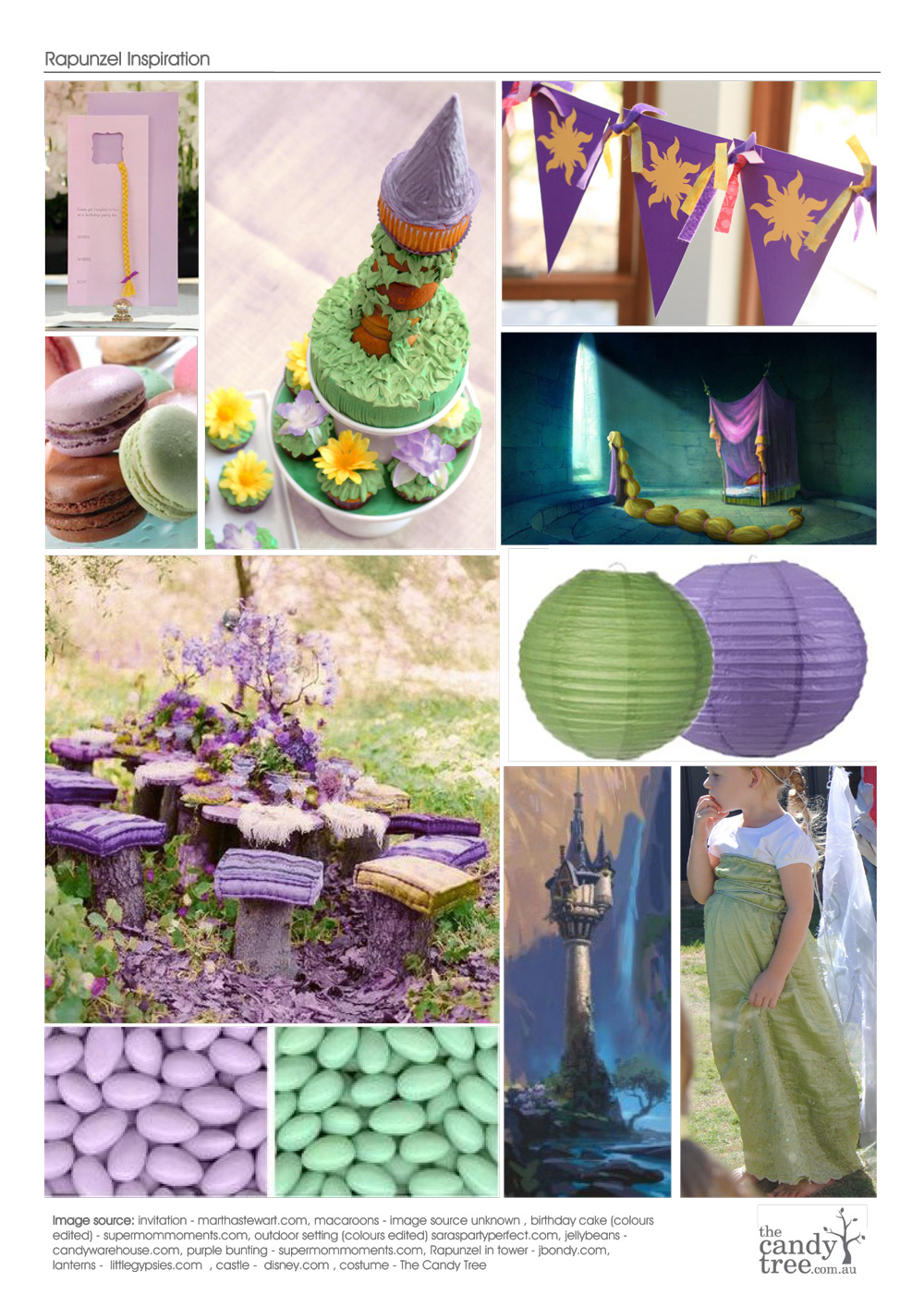 Tangled Rapunzel Party Ideas