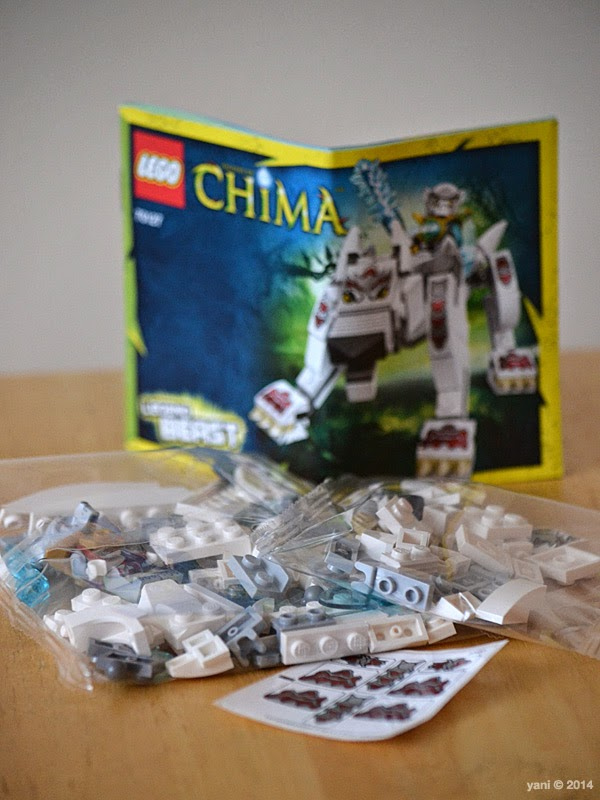 lego chima legend beast wolf - what's in the box