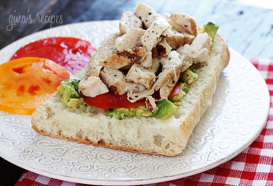Grilled Chicken Sandwich with Avocado and Tomato | Skinnytaste