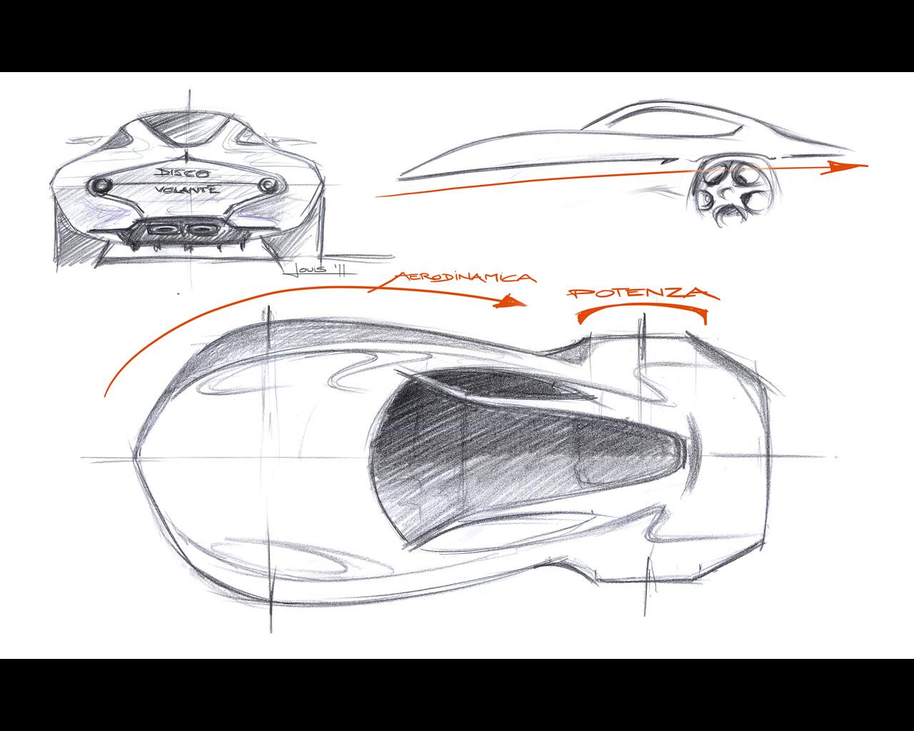 art 4 logic  alfa romeo disco volante concept