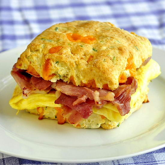 Cheddar and Chive Buttermilk Biscuits make fantastic ...