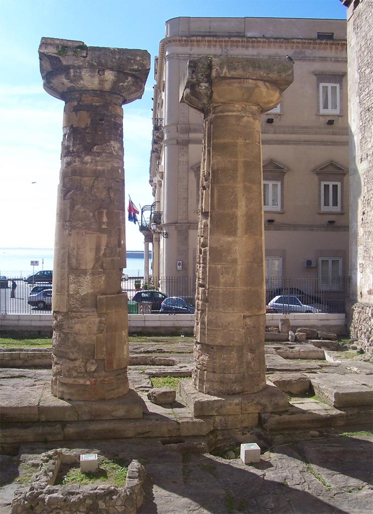 spesso HiPuglia!: Il Tempio di Poseidone a Taranto VR07