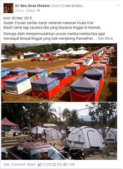 3 Bulan Selepas Banjir Di Kelantan