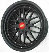 BBS LM2 Matt black-Replica