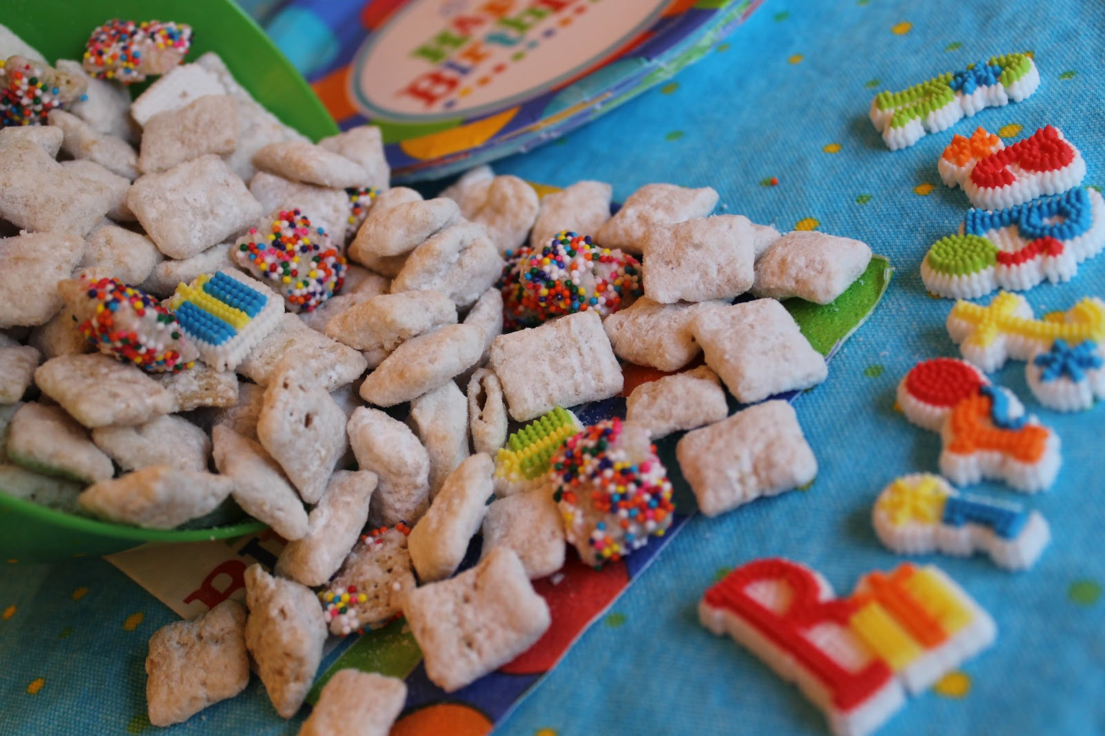 The Pastry Tip Birthday Cake Chex Mix