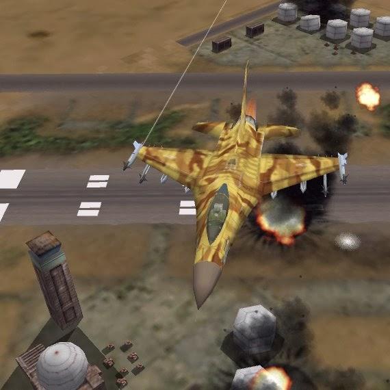 F-16 Agressor Game