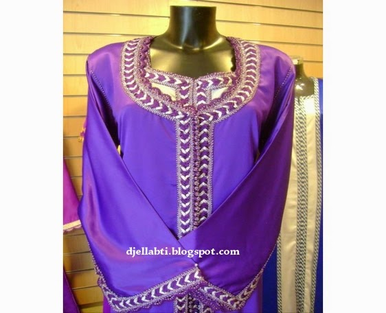 Djellaba, Djellaba Violet, Djellaba Mauve, djellaba moderne, djellabti, djellabti.blogspot.com, djellaba marocaine,