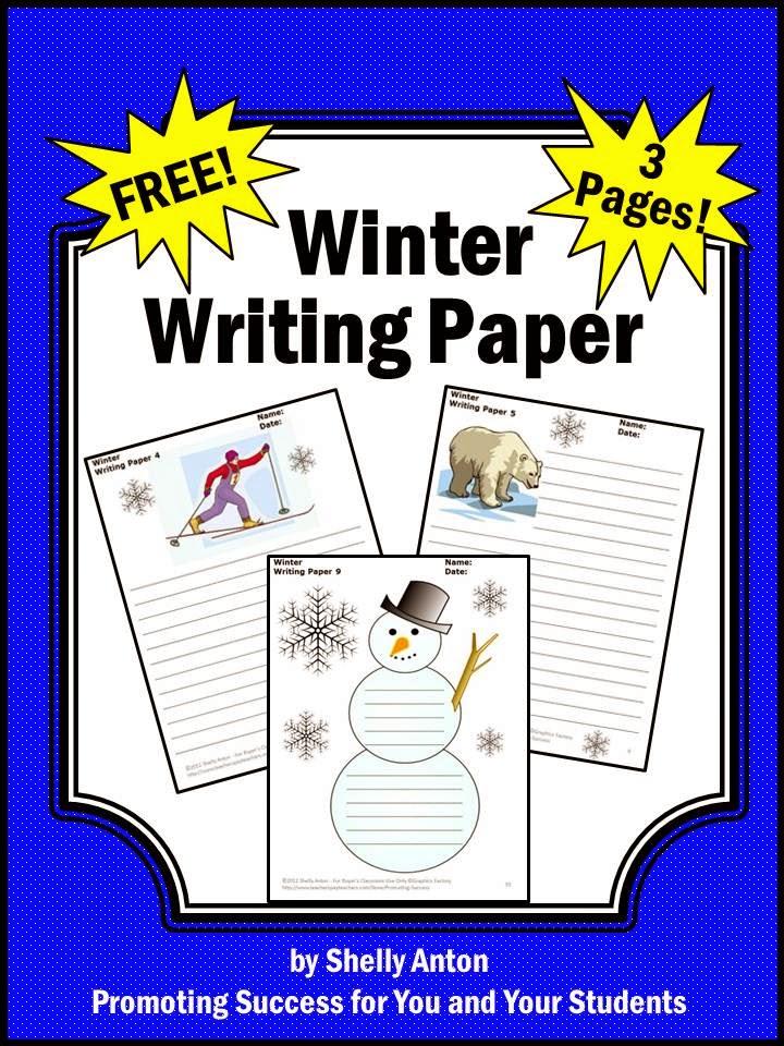 Winter Writing Teachers Pay Teachers Promoting-Success