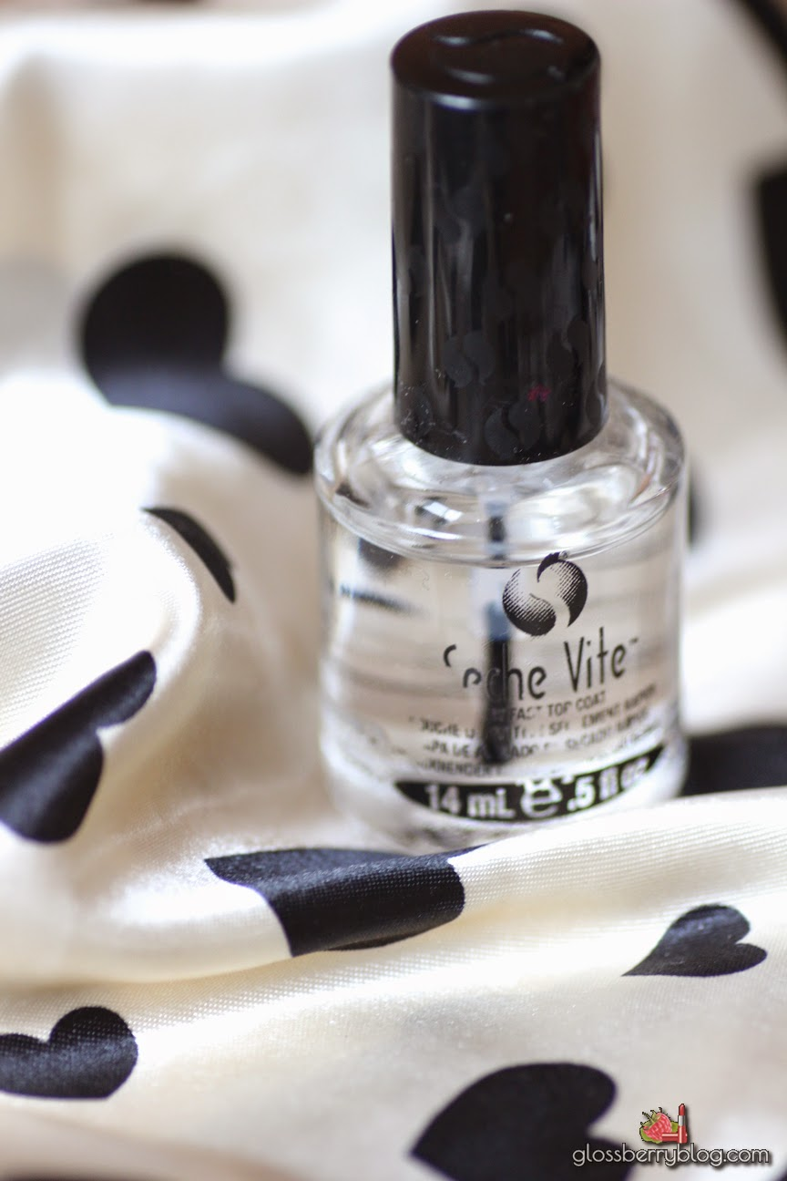 סש ויט מייבש לק טופ קוט seche vite top coat review