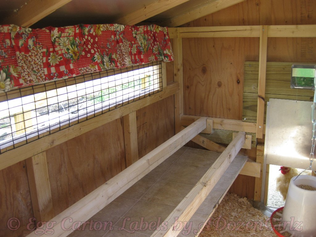 The Chicken Chick 174 Chicken Nest Box Curtains More Than A