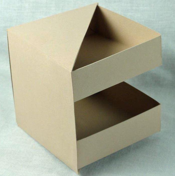 Необычная коробочка своими руками