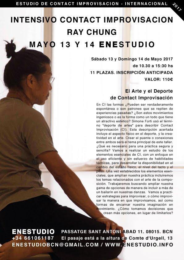 INTENSIVO INTERNACIONAL DE Contact Imprivisación