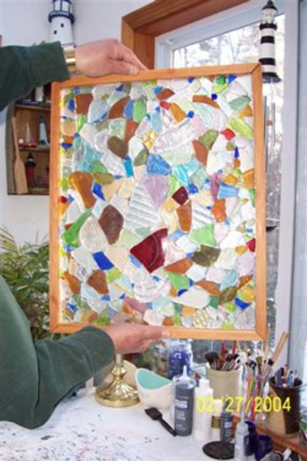 24 Diy Ideas With Colored Glass And Sea Glass Do It
