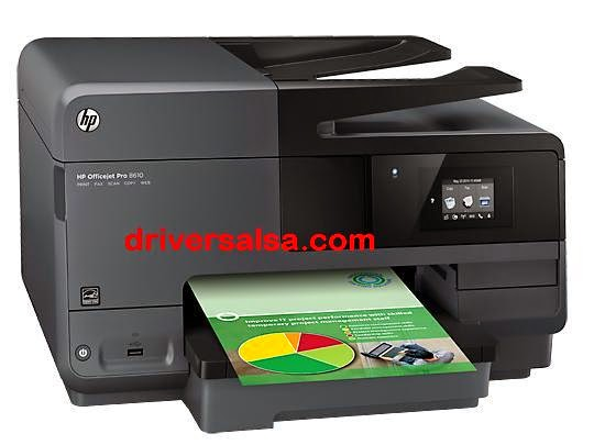HP Officejet Pro 8610 Drivers Download controller