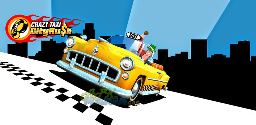Download Crazy Taxi™ City Rush Apk + Data