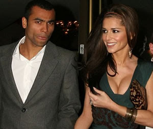 Cheryl cole with husband pics