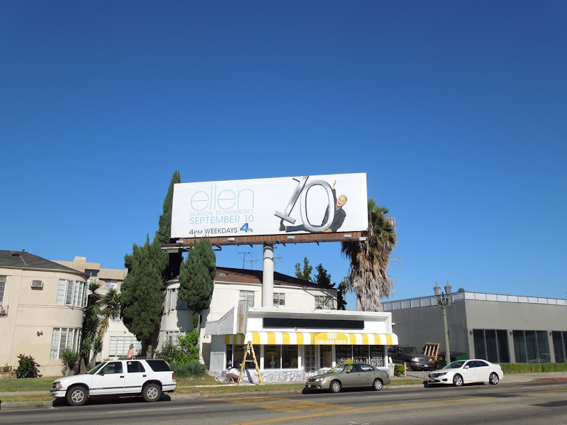 Ellen season 10 show billboard