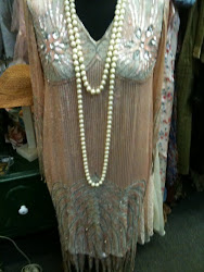 Antique flapper dress 1920