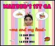 Makbed 1st GA :  Rancangan Masak-Masak Chef@Home