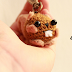 Amigurumi Squirrel keychain crochet pattern