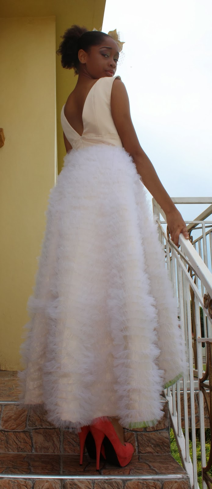 Wedding Dress For   In Jamaica : Caribbean wedding having your dress and bridal party s attire