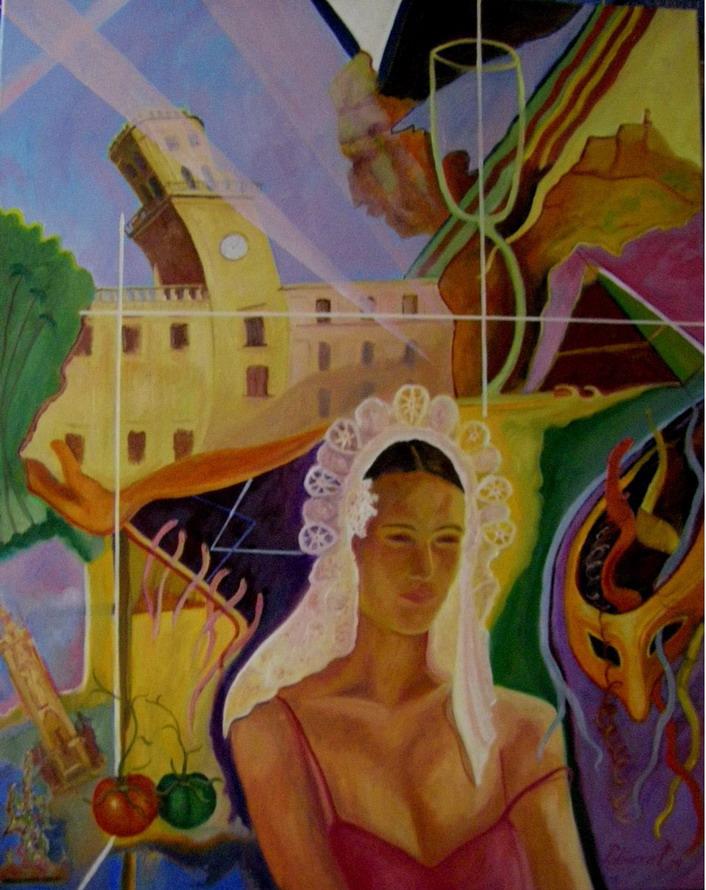 Varios cuadros de tema alicantino