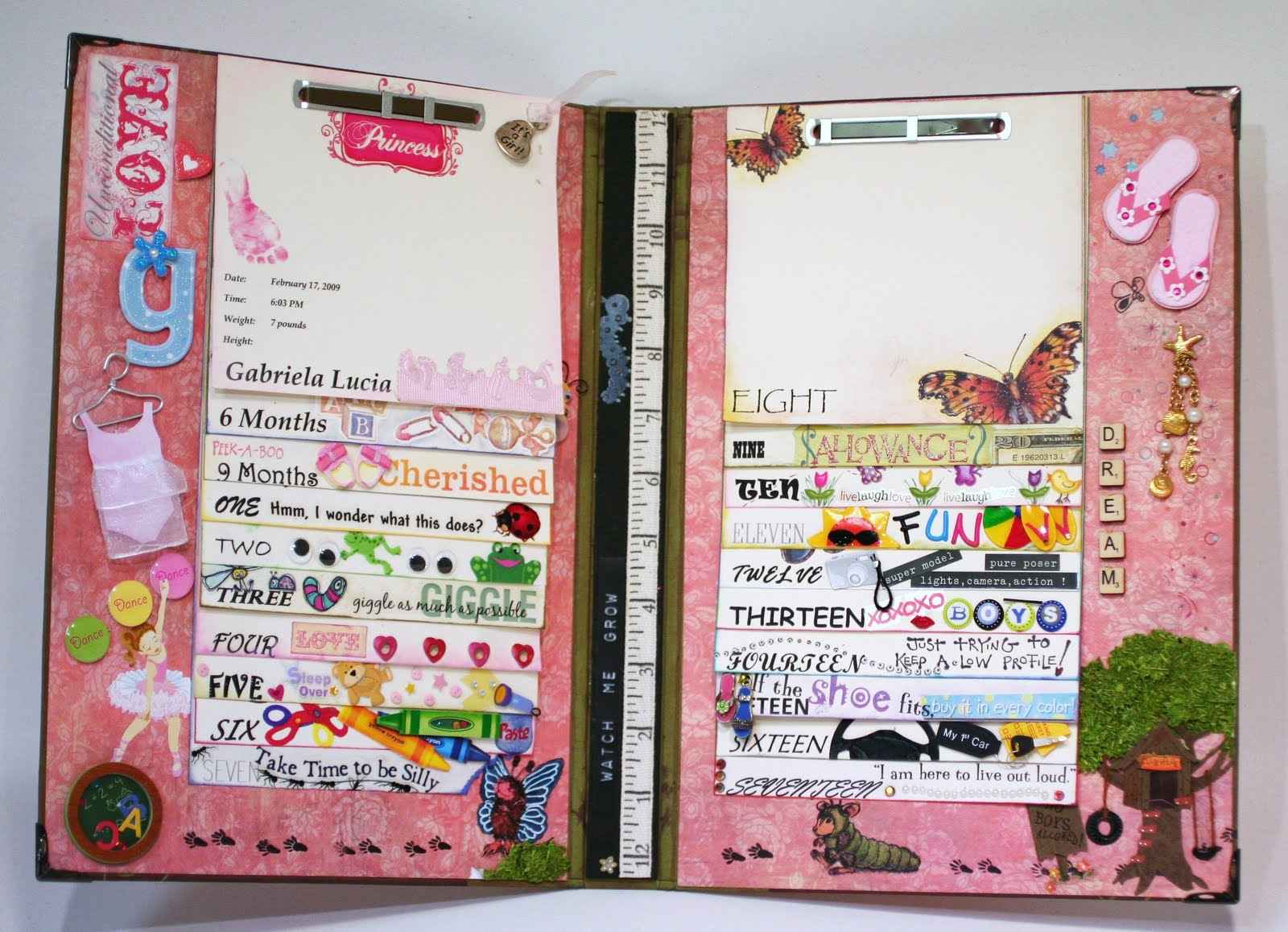 smartaleck studio baby book for gabi - smartaleck studio
