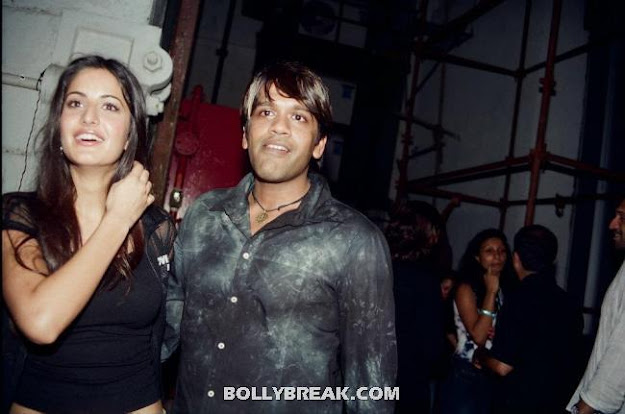 Katrina Kaif with Rocky S - (9) - Katrina Kaif Unseen Private Party Pics from 2004