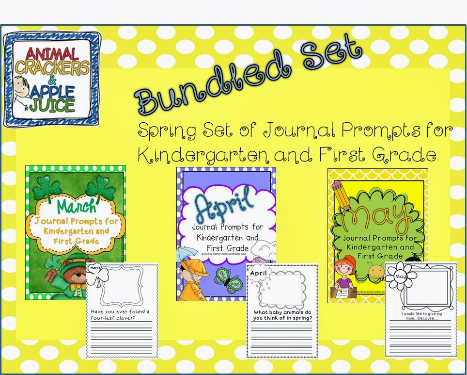 http://www.teacherspayteachers.com/Product/Journal-Prompts-Bundled-Set-for-Spring-1104349