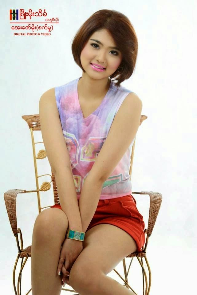 Miss Myanmar Model Eaindra Thiri Ko Photos Album