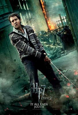 Harry Potter y las reliquias de la muerte. Parte 2. Poster Neville