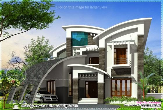 Super luxury ultra modern house design indian house plans for Ultra modern house designs