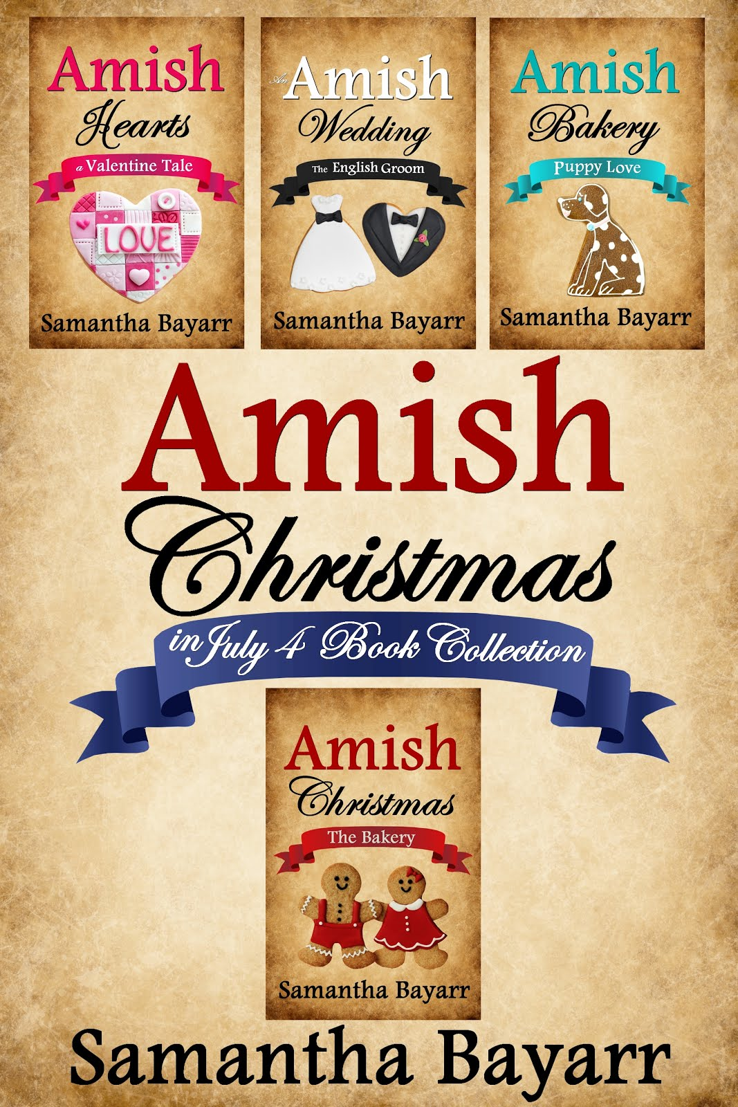 Amish Christmas in July Collection