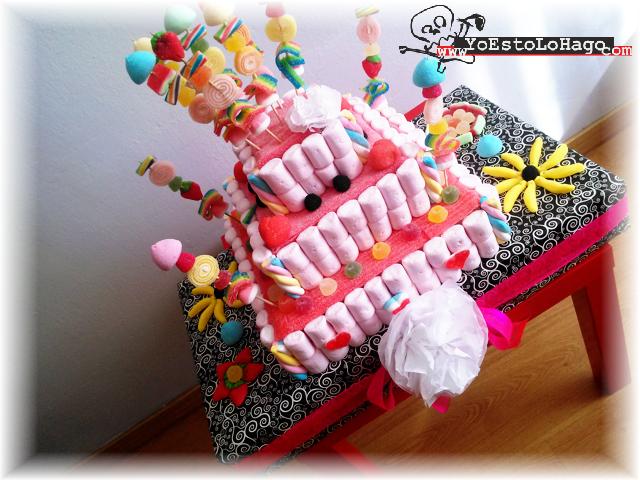 tarta de gominola