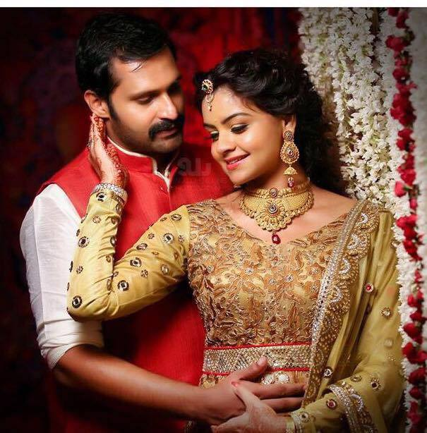 Malayalam actress shafna wedding