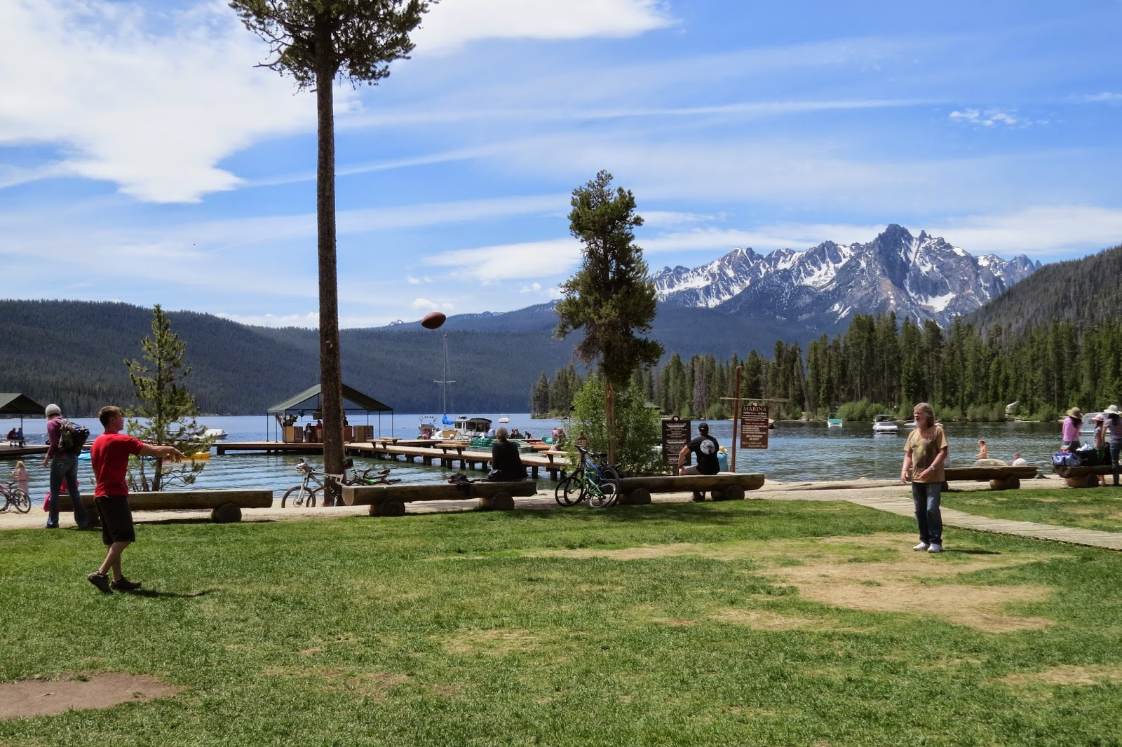 Redfish Lake, Redfish Lake Lodge in Stanley, Idaho