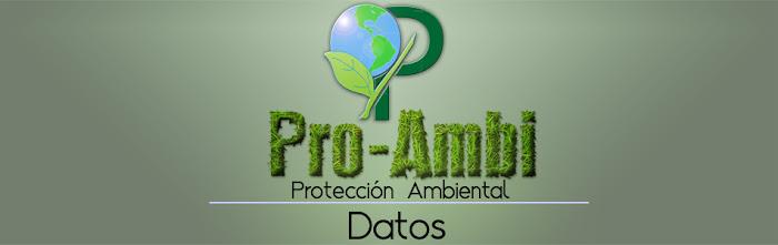 Datos - Pro-Ambi