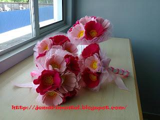 bunga tangan untuk pengapit kecik, flower girl
