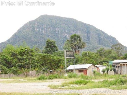 Morro de Calzada, rumbo a Tioyacu
