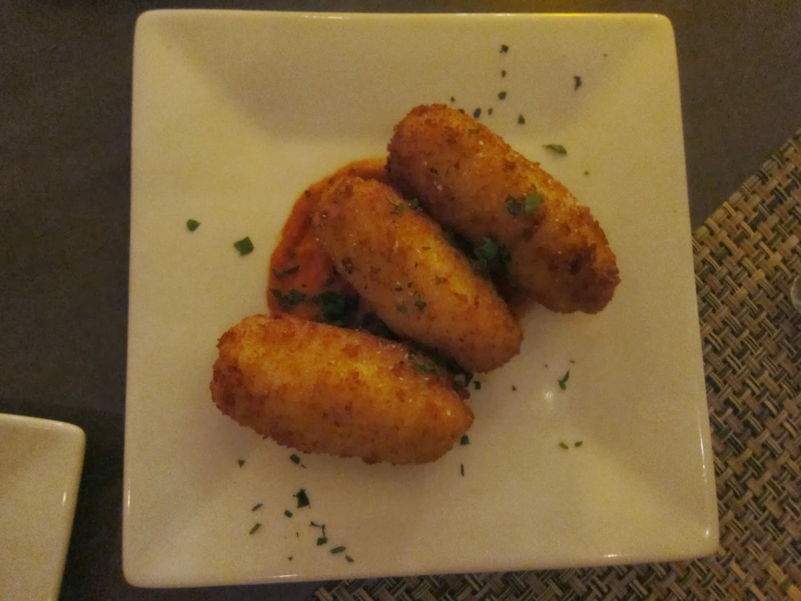 Arancini from Rialto Restaurant | The Economical Eater