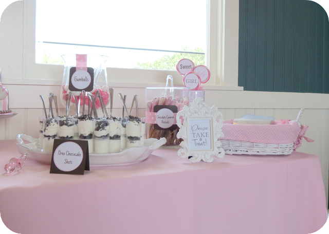Sweet beginnings baby shower favors
